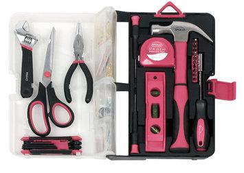 Lollytogs Apollo 126-piece Pink Kitchen Drawer Tool Kit