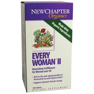 New Chapter Chapter Every Woman II Multivitamins, 180 Count