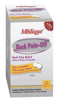 MEDIQUE 07313 Back Pain-Off(R),Tablet, PK500