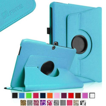 Fintie Rotating Leather Case Cover For Samsung GALAXY Tab 4 10.1 inch Tablet, Blue