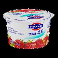 Fage Total 2% Lowfat Greek Strained Yogurt with Strawberry