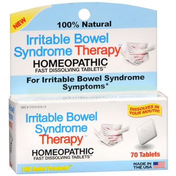 The Relief Products Irritable Bowel Syndrome Therapy Homeopathic Fast Dissolving Tablets, 70 ea