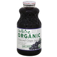 Santa Cruz Organic Concord Grape Juice, 32 oz (Pack of 6)