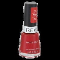 Revlon Matte Suede Nail Enamel