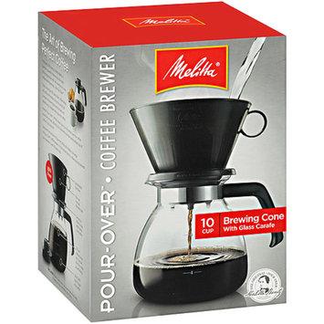 Melitta 10-Cup Coffee Maker, 640616, Black