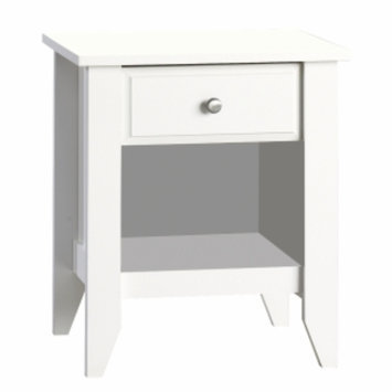 Childcraft by Sauder Shoal Creek Night Stand - Matte White