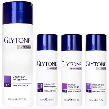 Glytone, Normal to Oily Skin, Step 1, rejuvenate system kit (4 Pcs), 12.7-Ounce Package