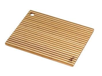 Laguna Honey Stripe Cutting Board Island Bamboo 1 Board
