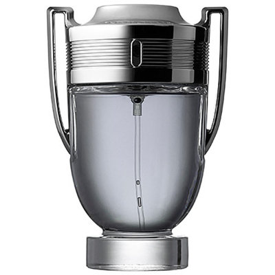 Men's Invictus by Paco Rabanne Eau de Toilette Spray - 3.4 oz