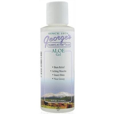 George's Aloe Vera Aloe Gel - 4 oz, 5 pack (image may vary)