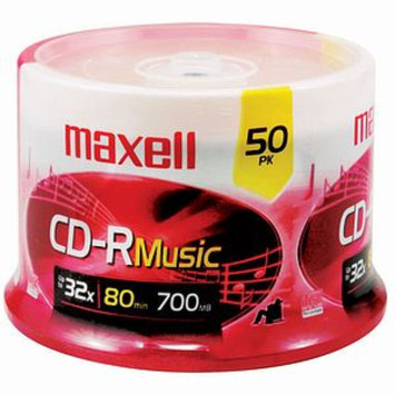Maxell Music Cd-Rs 50-Ct Spindle 625156 CD-RW
