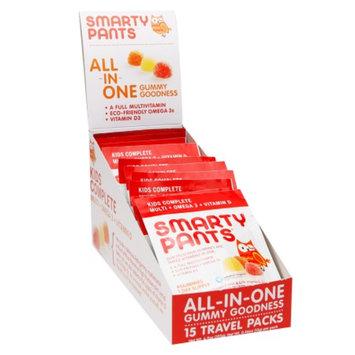 SmartyPants Kids Complete On-The-Go Gummy Vitamin Packs, 15 ea