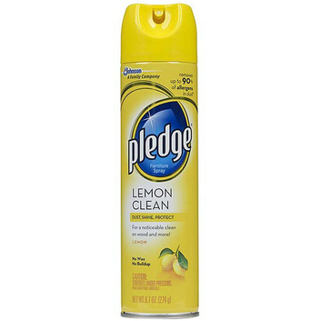 Pledge Lemon Furniture Spray