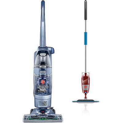 Hoover FloorMate SpinScrub with Tools with Your Choice of Bonus Stick/Handheld Vac