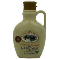 Shady Maple Farms Organic Maple Syrup, Grade A, 32 Ounce