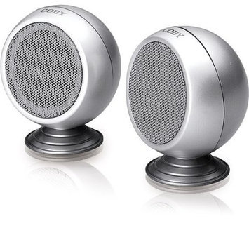 COBY Personal Mini Stereo Speaker System CSP14
