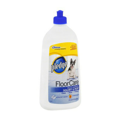 Pledge tile vinyl floor cleaner
