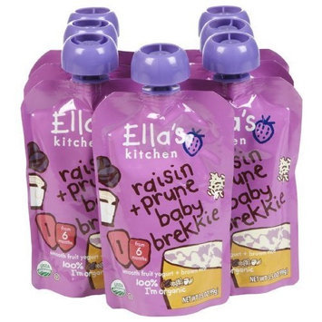 Ellas Kitchen Ella's Kitchen, Raisin and Prune Baby Brekkie, 3.5 Ounce (Pack of 7)
