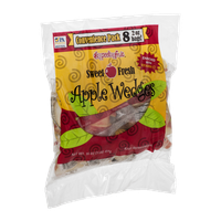 Appeeling Fruit Apple Wedges Sweet Fresh Convenience Pack - 8 CT