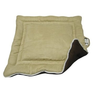 New Age Pet s Custom Fit Cozy Dog House Pad in 2-Tone Color - Tan