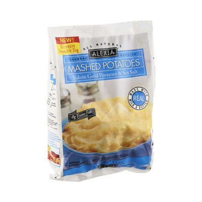 Alexia Yukon Gold Potatoes & Sea Salt Mashed Potatoes