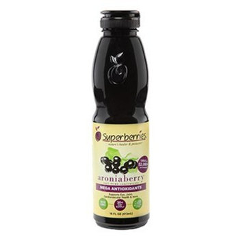 Superberries Aroniaberry (Chokeberry) Juice Concentrate 16 Fl. Oz