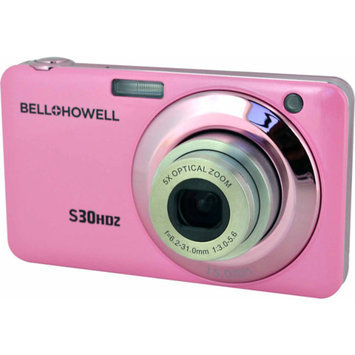 Bell & Howell Bell+Howell Pink S30HDZ Digital Camera with 15 Megapixels and 5x Optical Zoom