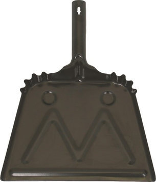 Birdwell Cleaning Products Metal Dust Pan Black 20 Gauge