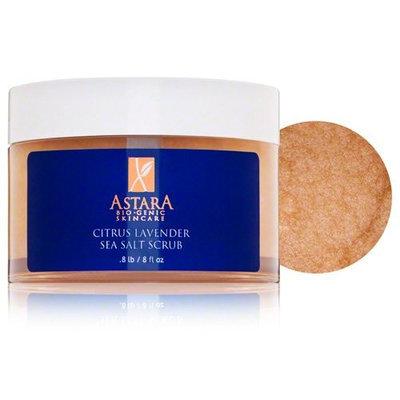 Astara Skincare Astara Citrus Lavender Sea Salt Scrub, 8 Fluid Ounce