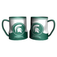 NCAA Michigan State Spartans Boelter Brands 2 Pack Game Time Coffee Mug -
