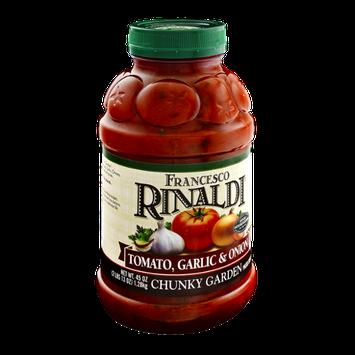 Francesco Rinaldi Chunky Garden Tomato, Garlic & Onion Pasta Sauce