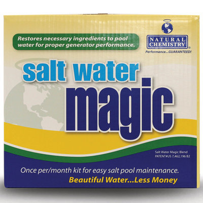 Topo-logic Systems, Inc. Natural Chemistry Salt Water Magic Kit