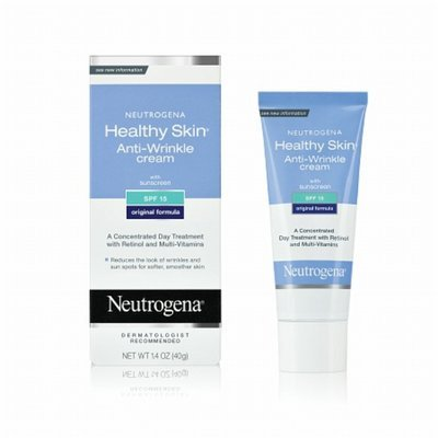 Neutrogena Healthy Skin Anti-Wrinkle Cream with sunscreen SPF 15