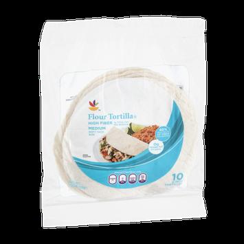 Ahold Flour Tortillas High Fiber Medium - 10 CT