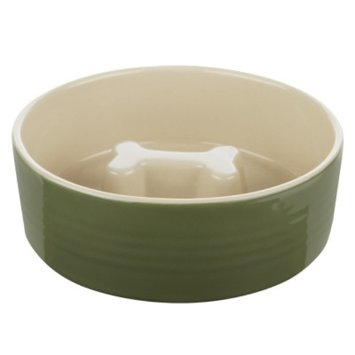 Top Paw Slow Feed Dog Bowl