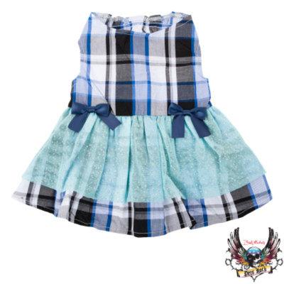 Bret Michaels Pets RockTM Plaid & Bows Dress