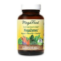 MegaZymes DailyFoods - Vegetarian MegaFood 30 Tabs