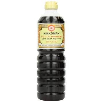 Kikkoman Usukuchi Soy Sauce, 33.8-Ounce (Pack of 3)