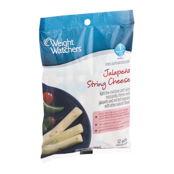 Weight Watchers Jalapeno String Cheese - 12 CT