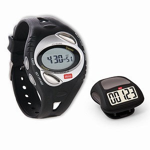 Mio Walk Heart Rate Watch with Calorie Burn & Bonus Pedometer
