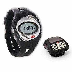 Mio Walk Heart Rate Watch with Calorie Burn & Bonus Pedometer