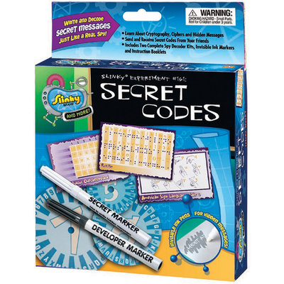 Poof-slinky Poof Slinky PSFL1100 Secret Codes Fun Lab Kit
