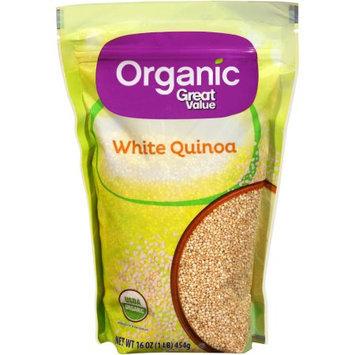 Generic Organic Great Value White Quinoa, 16 oz