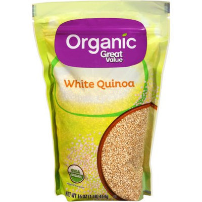 Generic Organic Great Value White Quinoa, 16 oz
