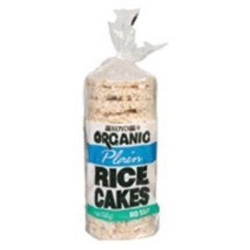 Koyo Organic Rice Cakes, Plain, No Salt, 6-Ounce Bags (Pack of 12) ( Value Bulk Multi-pack)