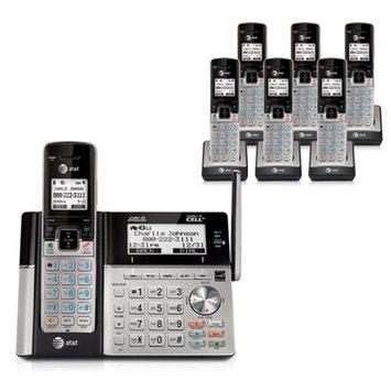 AT & T TL96273 plus TL90073 (5) 7 Handset Cordless Phone