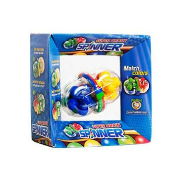 FoxMind Games Super Brain Spinner Ages 8+, 1 ea