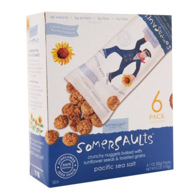 Somersaults Crunchy Nugget Snack Pacific Sea Salt