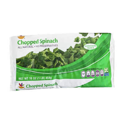 Ahold Chopped Spinach