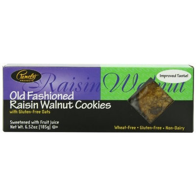 Pamela's Products Raisin Walnut Cookies, 6.52-Ounce Boxes (Pack of 6)